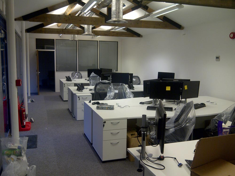 Office fit out for wd 40 excelsior land for Office fit out